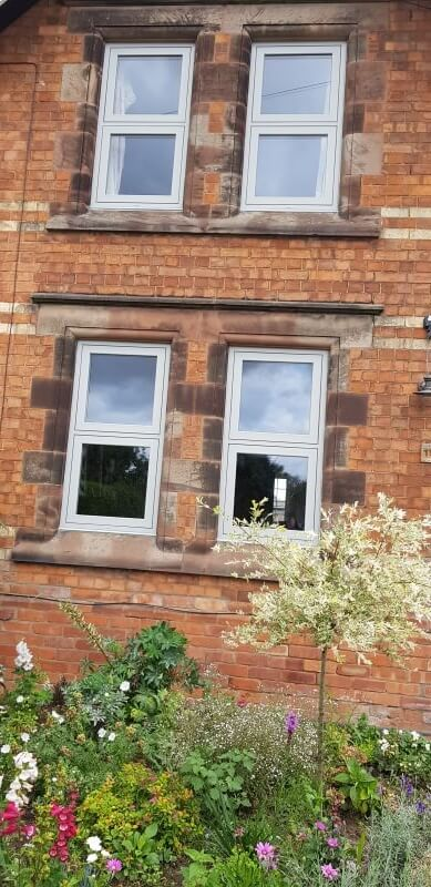 Heritage window installation
