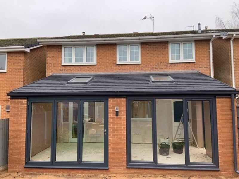 A Modern lean-to conservatory in Hucknall.
